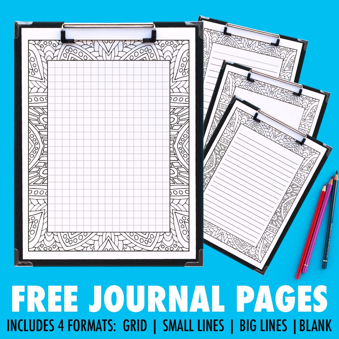 photograph regarding Bullet Journal Pages Printable named Obtain such Free of charge printable magazine internet pages that by yourself can colour inside of