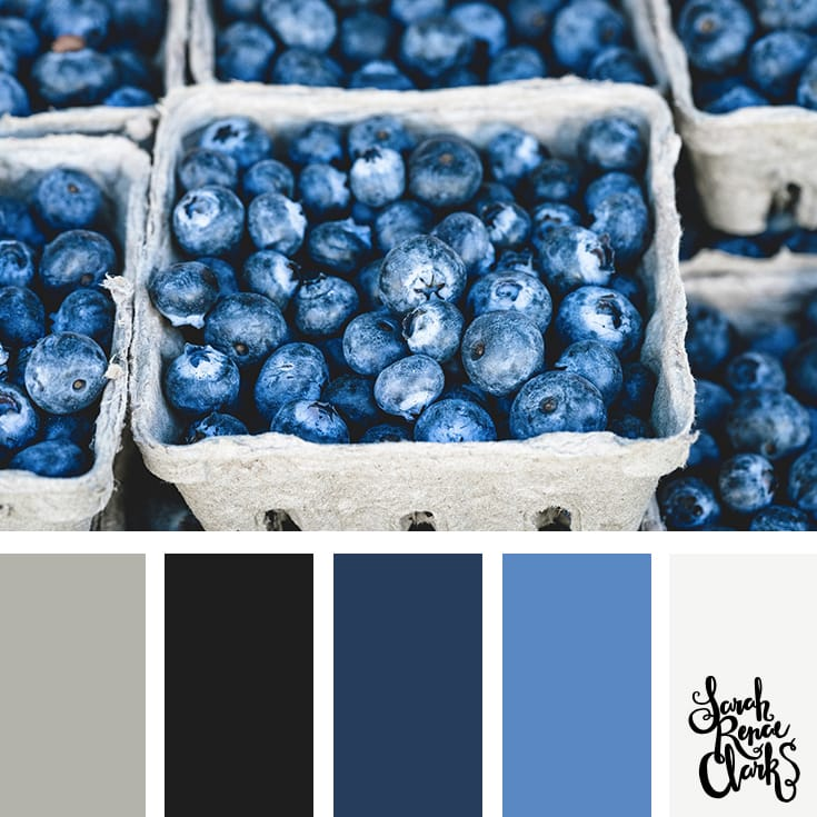 Winter berries // Winter Color Schemes // Click for more winter color combinations, mood boards and seasonal color palettes at http://sarahrenaeclark.com #color #colorscheme #colorinspiration