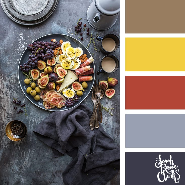 Vibrant colors // Winter Color Schemes // Click for more winter color combinations, mood boards and seasonal color palettes at http://sarahrenaeclark.com #color #colorscheme #colorinspiration
