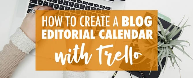 Learn how to make a blog editorial calendar using Trello with Butler and the calendar power up.