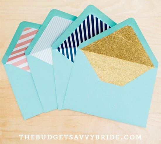 Make your own envelope liners | Click to see all 29 creative ways to repurpose your coloring pages | #coloringpage #crafts www.sarahrenaeclark.com