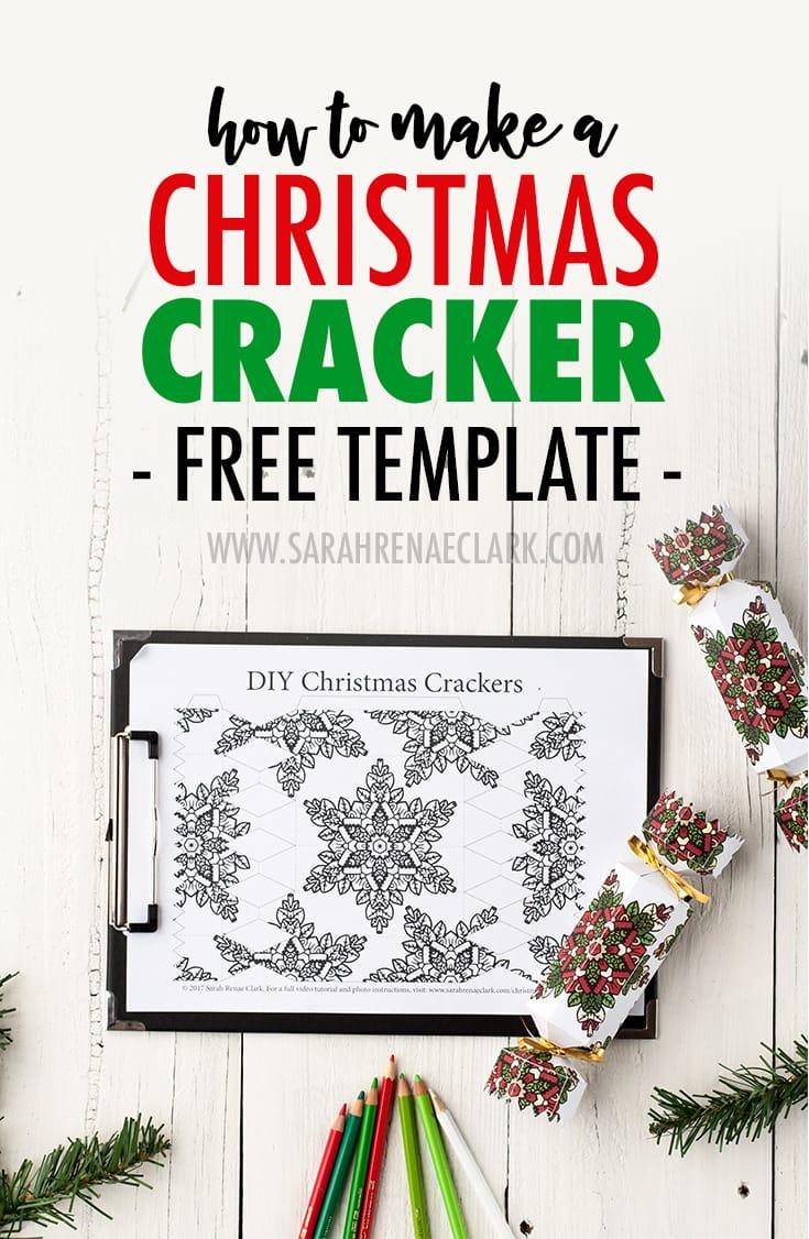 How to Make a Christmas Cracker | FREE Printable Template and ...