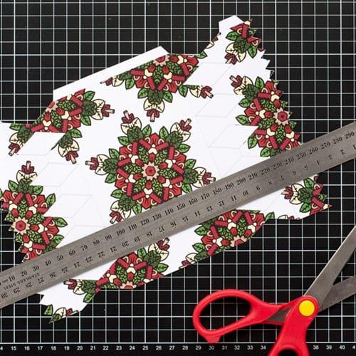 Step 4 // How to make a DIY Christmas Cracker with this easy tutorial and free cracker template! // www.sarahrenaeclark.com/christmas-cracker