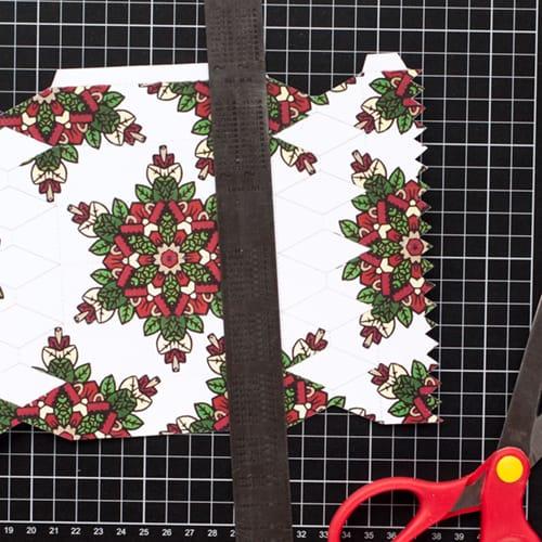 Step 6 // How to make a DIY Christmas Cracker with this easy tutorial and free cracker template! // www.sarahrenaeclark.com/christmas-cracker