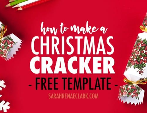 How to Make a Christmas Cracker | Free Template and Tutorial