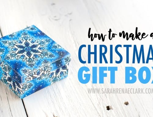 How to Make a Christmas Gift Box