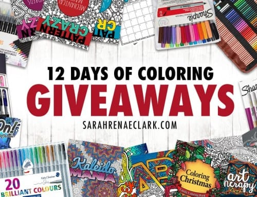 12 Days of Coloring Giveaways – Over $300 in Prizes!