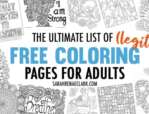 The Ultimate List of (Legit) Free Coloring Pages for Adults