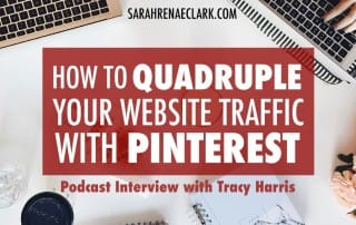 Pinterest Marketing: Tune in to this podcast episode to get some great tips on growing your website traffic with Pinterest #pinterest #pinterestmarketing