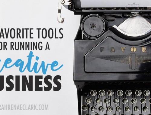 My Favorite Tools for Running a Creative Business