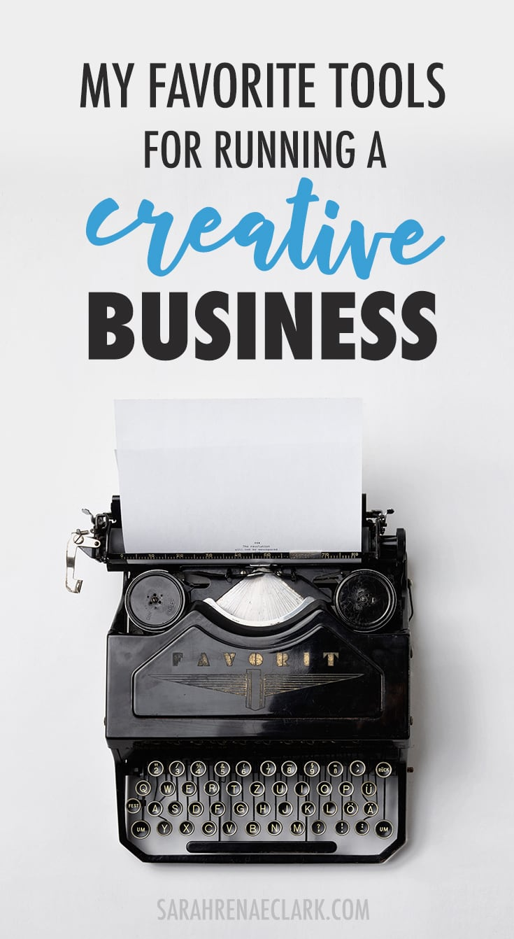 Here's a look at my favorite tools that I use daily to run my creative online business. Including my favorite tools for social media marketing, running giveaways, email marketing, productivity, blogging, graphic design and SEO analytics. Click to read more!