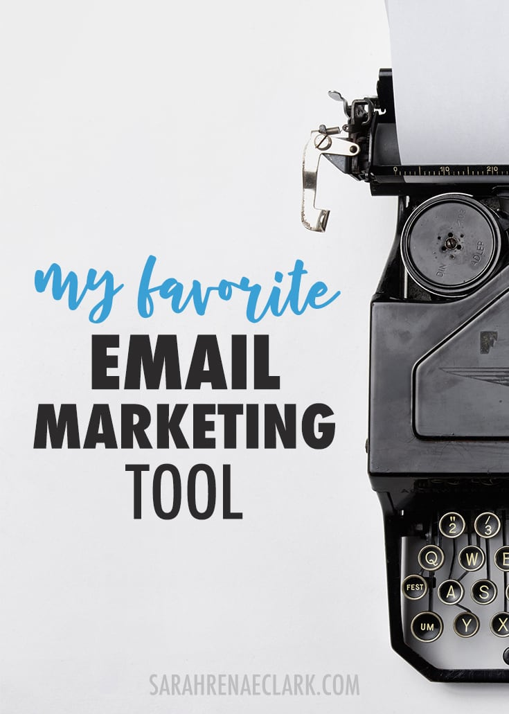 Email marketing - Let me show you my favorite email marketing tool I use in my own creative business. Click to read more and see my other favorite business tools!