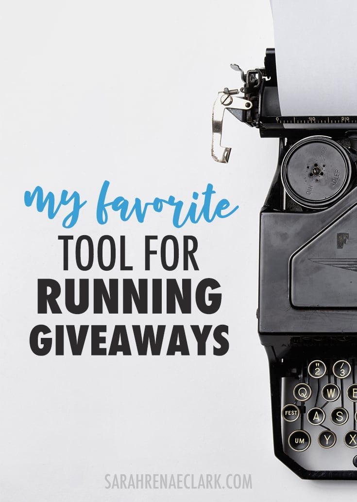 Grow your audience quickly with giveaways: Here's my favorite tool for running giveaways in my own creative business. Click to read more and see my other favorite business tools!