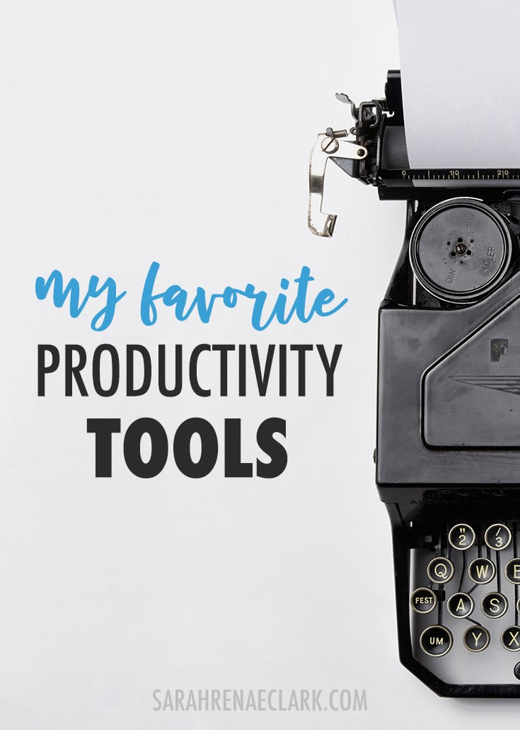Need help with productivity? Here's my favorite productivity tools I use in my own creative business. Click to read more and see my other favorite business tools!