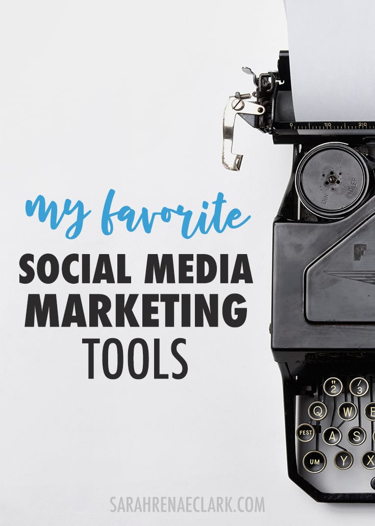 Social media marketing - Here's my favorite social media tools I use in my own creative business. Click to read more and see my other favorite business tools!