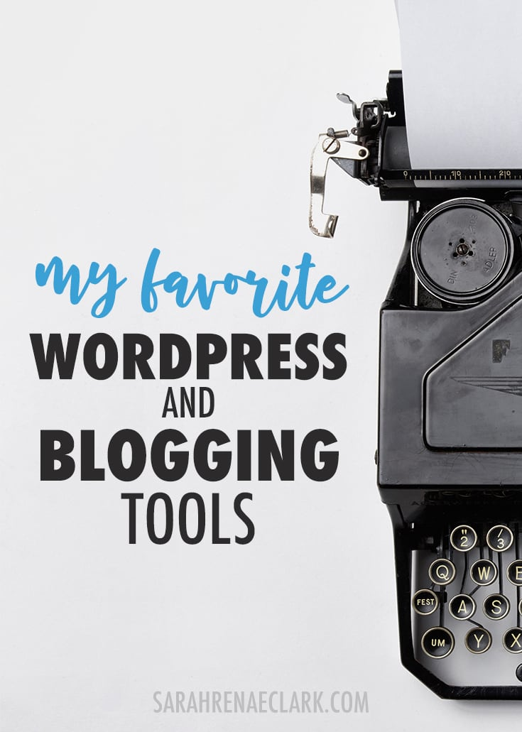If you're a blogger or website owner, check out this list of my favorite WordPress and blogging tools I use in my own creative business. Click to read more and see my other favorite business tools!