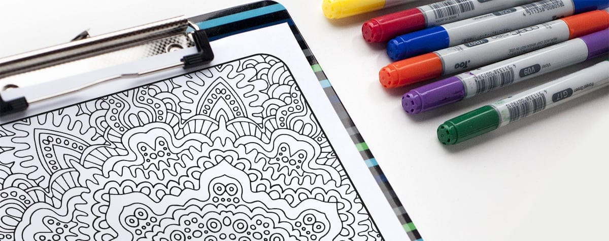 Copic markers are great for adult coloring pages - but which paper should you use?