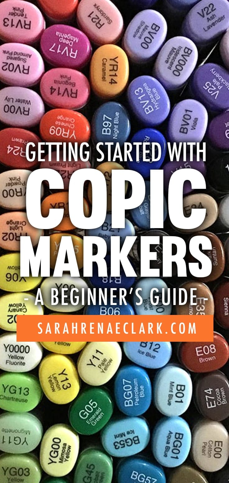 Getting Started with Copic Markers - A Beginner's Guide