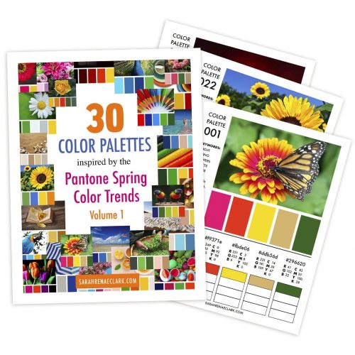 30 Color Palettes Inspired by the Pantone Spring Color Trends 2017