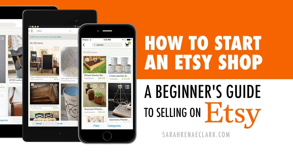 How to start an Etsy shop: A beginner's guide to selling on Etsy