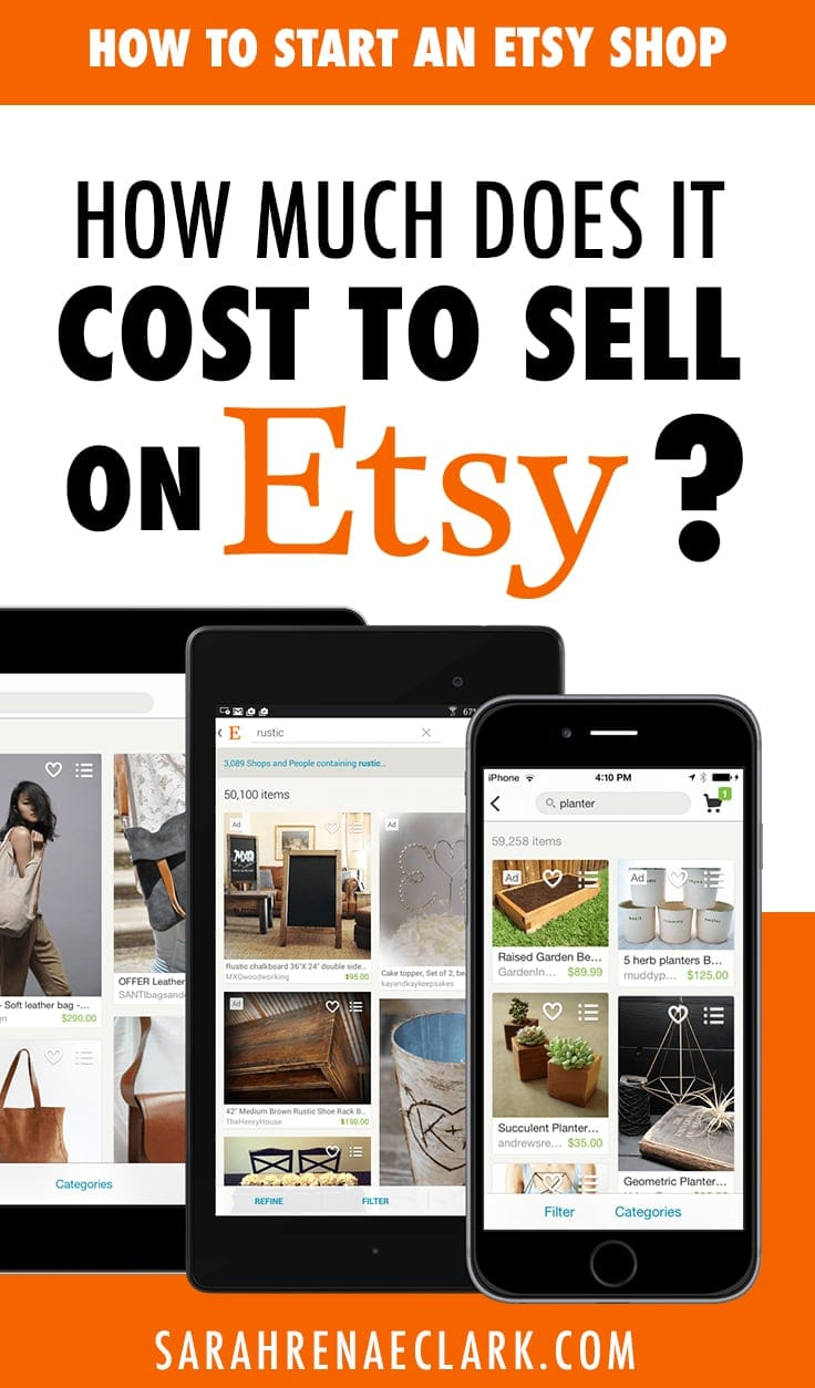 How much does it cost to sell on Etsy?