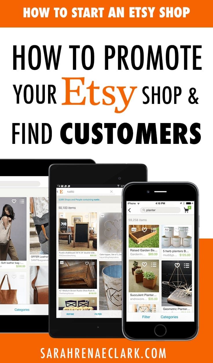 How to promote your Etsy shop and find customers
