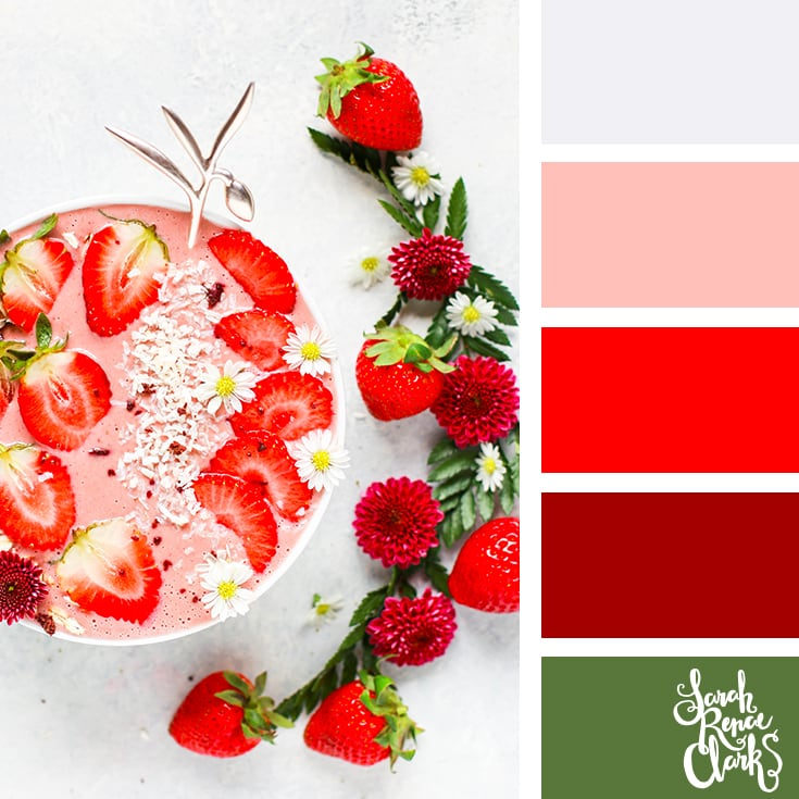 Summer berries color inspiration