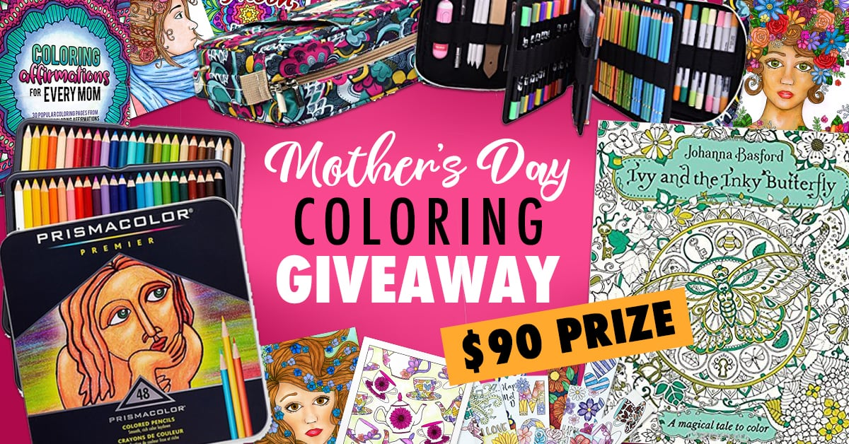 Mothers Day Coloring Giveaway