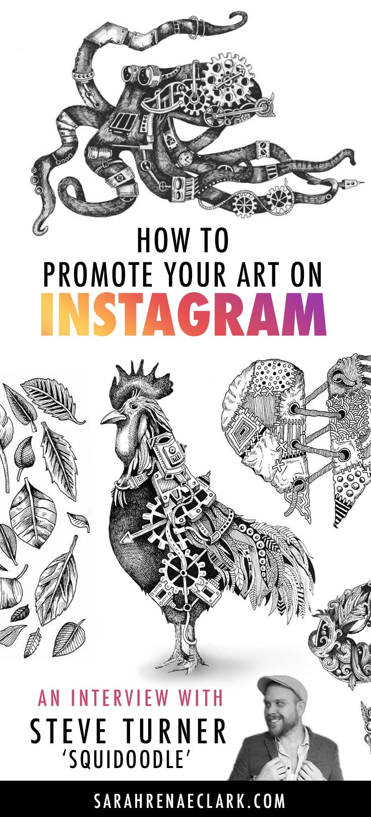How To Promote Your Art On Instagram An Interview With SquidoodleArt