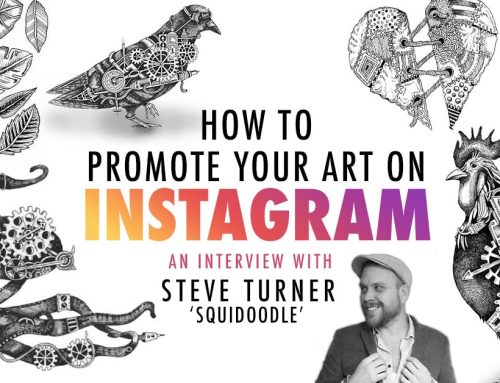 "How to Promote Your Art on Instagram: An Interview with Steve ""Squidoodle"" Turner"