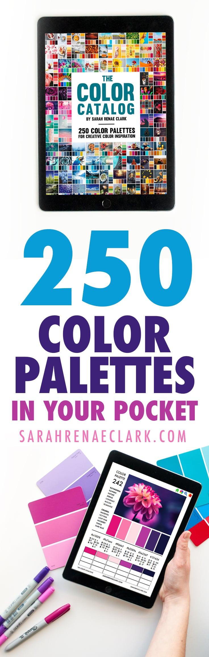 250 Color Palettes – The Color Catalog