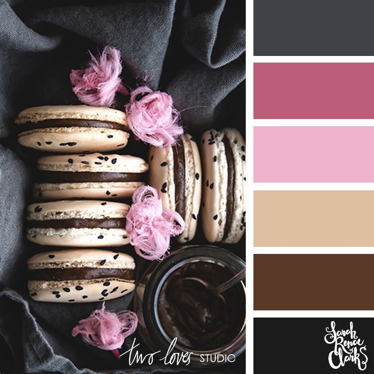 Macaron color inspiration