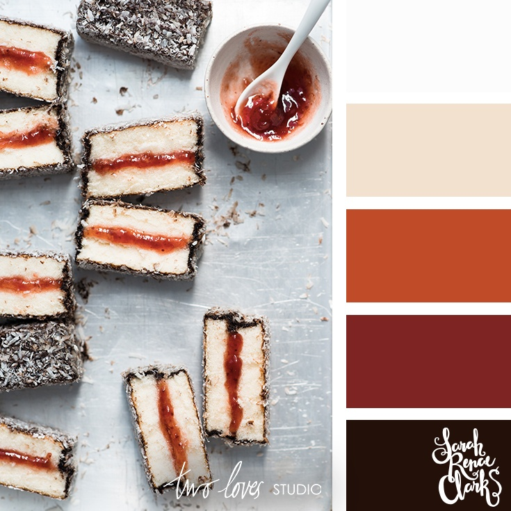 Lamingtons color inspiration