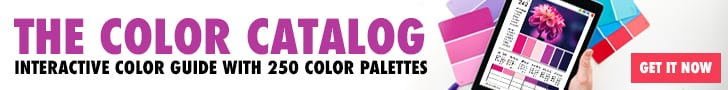Get the Color Catalog - 250 color palettes in an interactive PDF format!