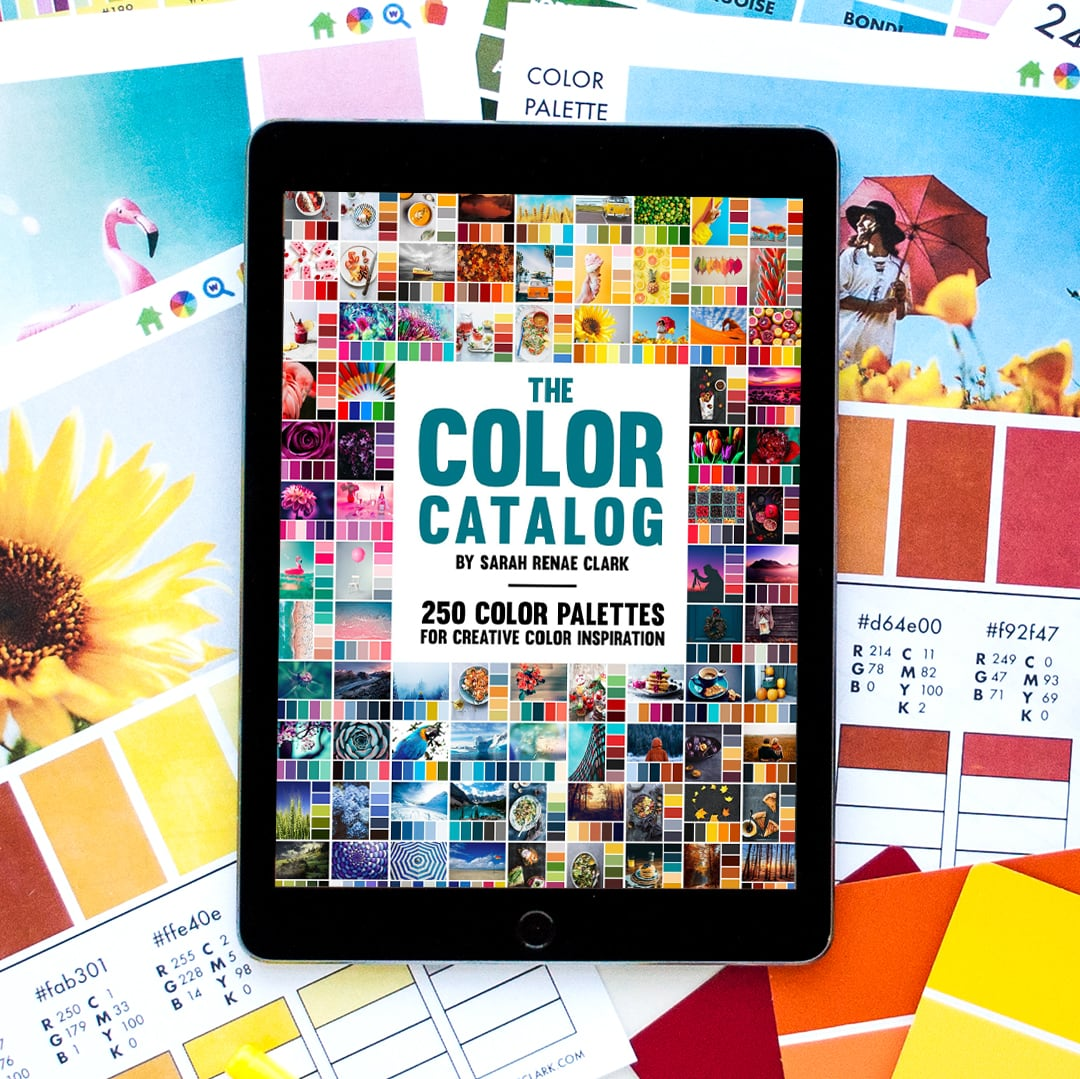 Get the Color Catalog with 250 color palettes you can browse by color, keyword or collection in just a few taps. Click to buy now!