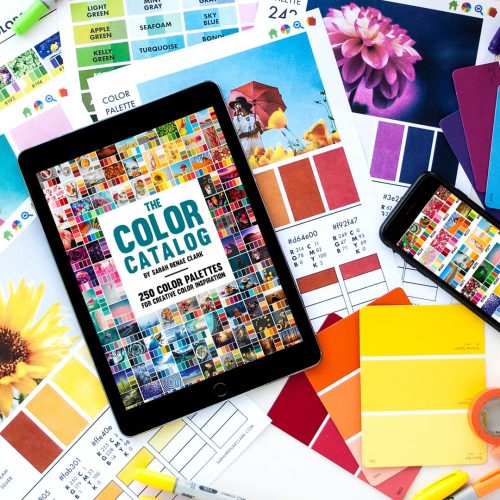 The Color Catalog - 250 Color Palettes in an interactive catalog you can sort by color, keyword or collection.
