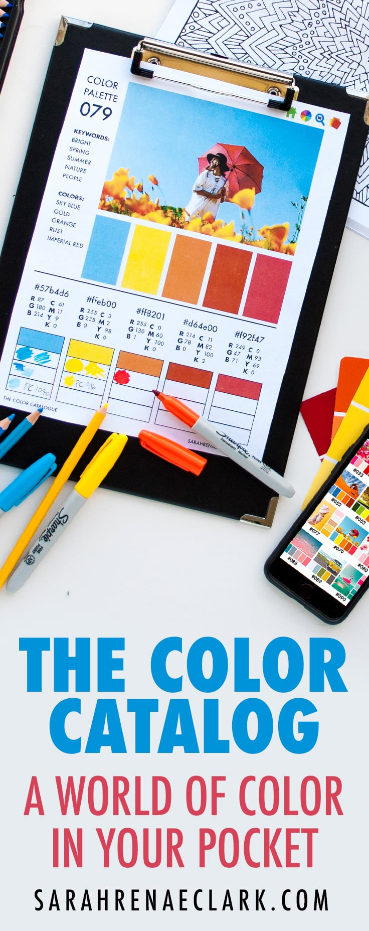 The Color Catalog – A world of color in your pocket