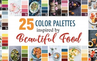 25 Color Palettes Inspired by Beautiful Food (Photos by Rachel Korinek)