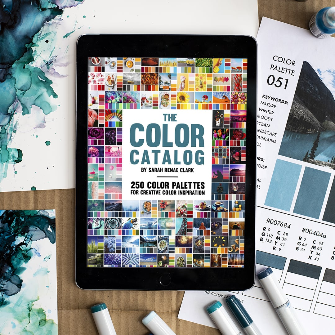 The Color Catalog with alcohol inks