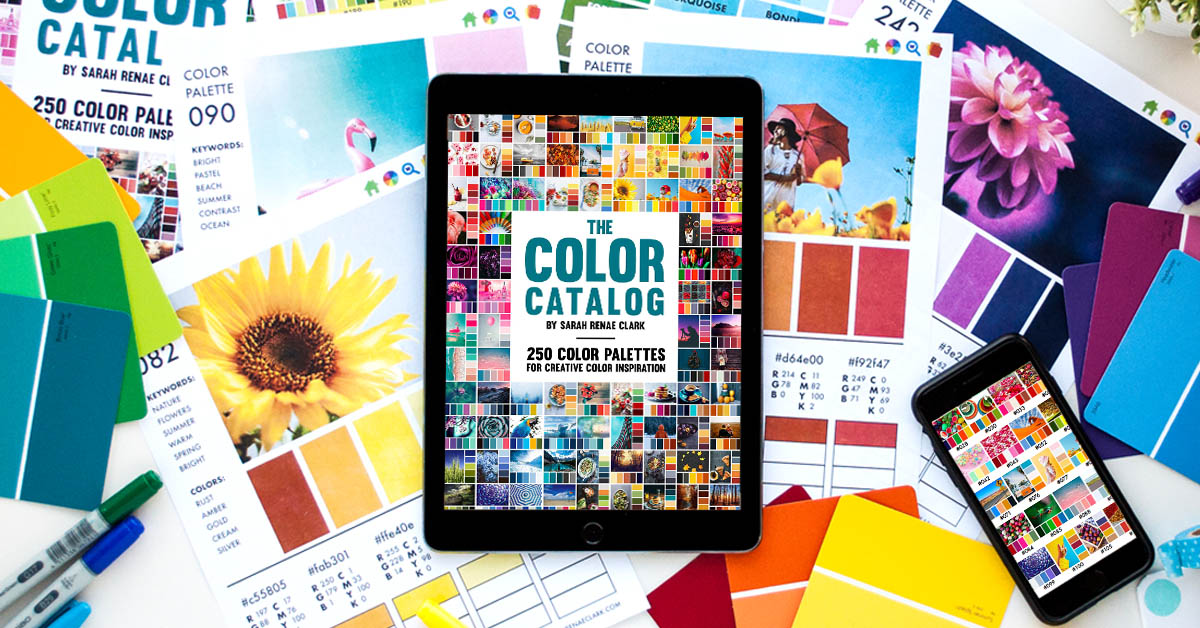 The Color Catalog By Sarah Renae Clark
