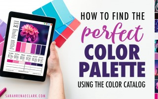 How to Find the Perfect Color Palette Using The Color Catalog