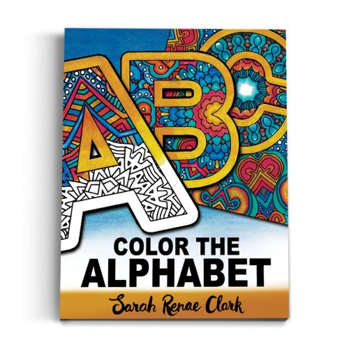 Color the Alphabet - Printable Adult Coloring Book