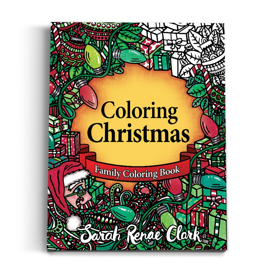 Coloring Christmas - Printable Coloring Book