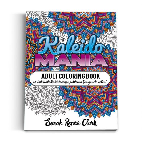 Kaleidomania - Printable Adult Coloring Book