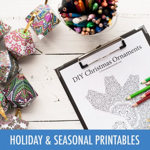 Holiday & Seasonal Printables