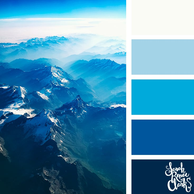Color Palette - blues