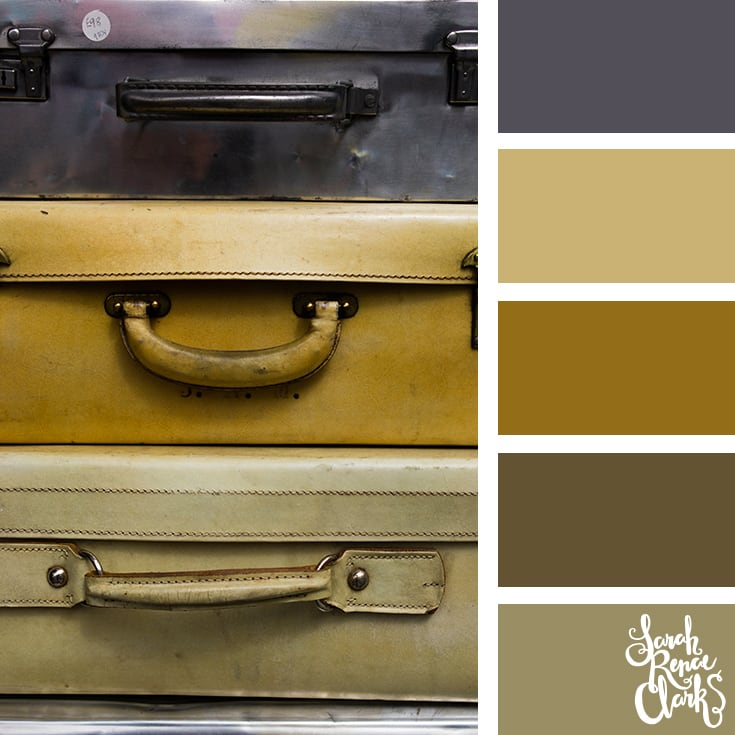 Color Palette - brown, gray