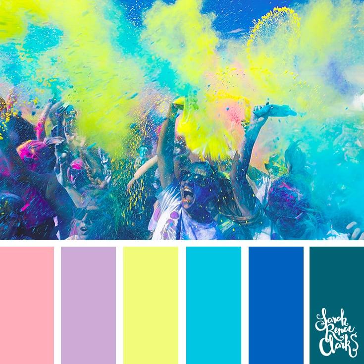Color Palette - multicolor