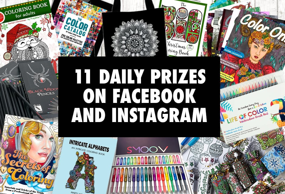 Over $600 in prizes for coloring book lovers in this huge giveaway! Enter at sarahrenaeclark.com/win