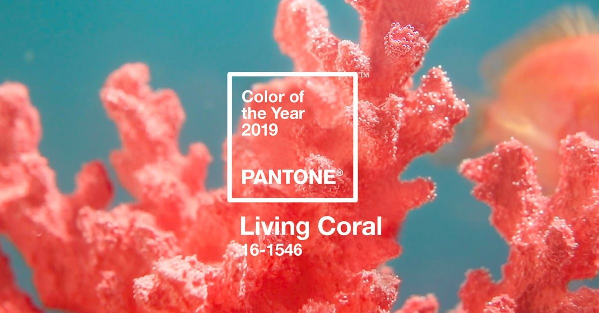 PANTONE Color of the Year 2019, Living Coral